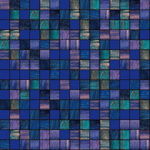 Native 3/4″ x 3/4″ (Mixed Series) Glass Pool Tile