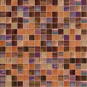 Passion 3/4″ x 3/4″ (Mixed Series) Glass Pool Tile