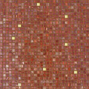 Ruby 3/8″ x 3/8″ (Gold Series) Glass Pool Tile