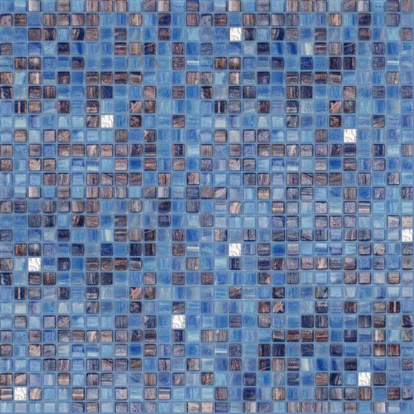 Sapphire 3/8″ x 3/8″ (Gold Series) Glass Pool Tile