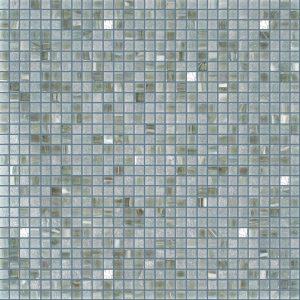Silver Grey 3/8″ x 3/8″ (Gold Series) Glass Pool Tile